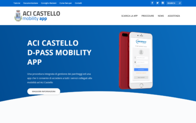 ACI CASTELLO D-PASS MOBILITY APP È ONLINE